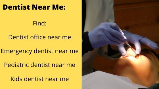 Find dentist near me