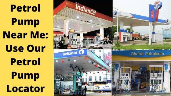 petrol pump near me