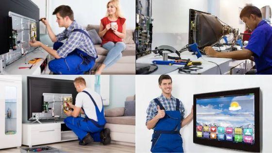 tv technician or tv repair shops near me