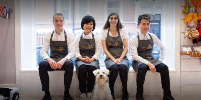 BOW WOW London Dog Grooming team